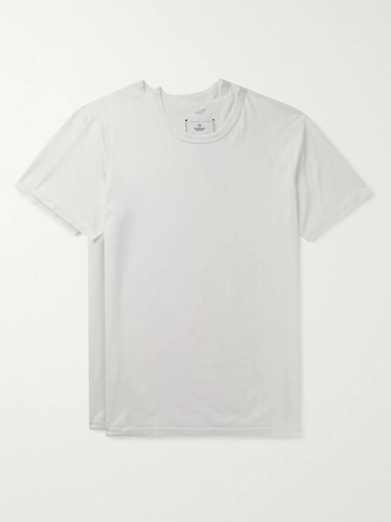 Reigning Champ Two-Pack Pima Cotton-Jersey T-Shirts