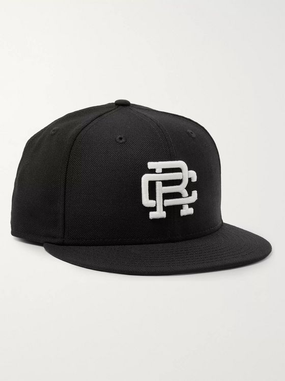 Reigning Champ + New Era 59FIFTY Logo-Embroidered Wool-Twill Baseball Cap