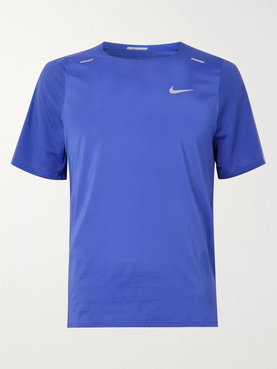 Nike Running Rise 365 Breathe Mesh Running T-Shirt