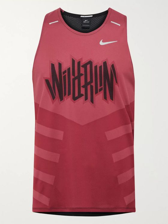 Nike Running Rise 365 Wild Run Dri-FIT Mesh Tank Top