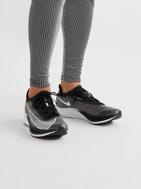 Nike Running Zoom Fly 3 Mesh Running Sneakers
