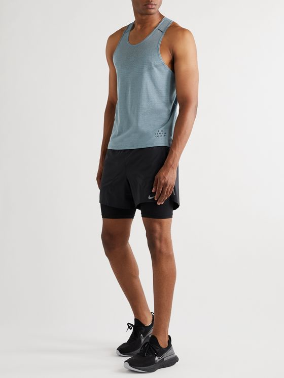 Nike Running Division Adapt Slim-Fit Perforated Dri-FIT Tank Top