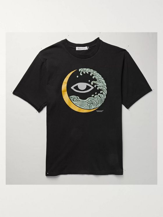 Undercover Printed Cotton-Jersey T-Shirt