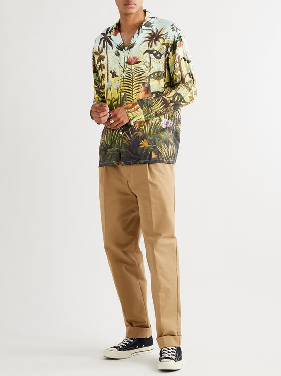 Endless Joy Isle Of The Sun Printed Woven Shirt