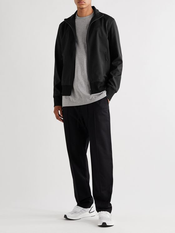 Y-3 Wool-Blend Twill Track Jacket