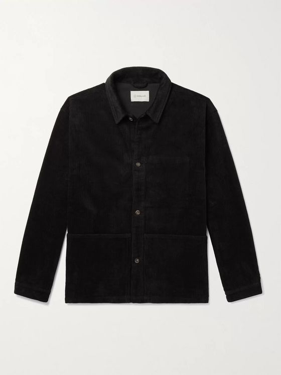 Satta Allotment Cotton-Corduroy Shirt Jacket