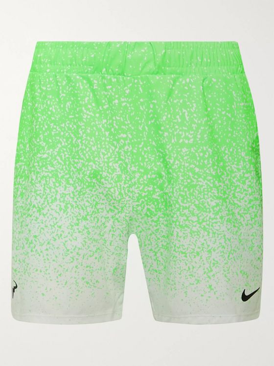Nike Tennis NikeCourt Rafa Slim-Fit Printed Dri-FIT Tennis Shorts