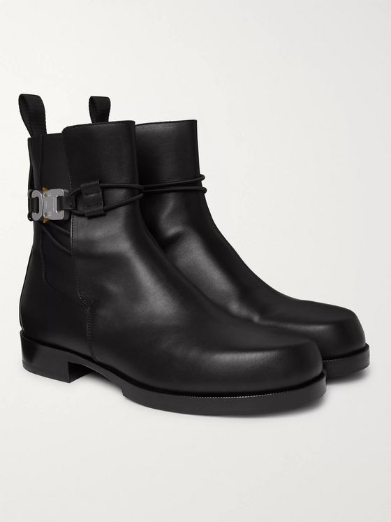 1017 ALYX 9SM Buckled Leather Chelsea Boots