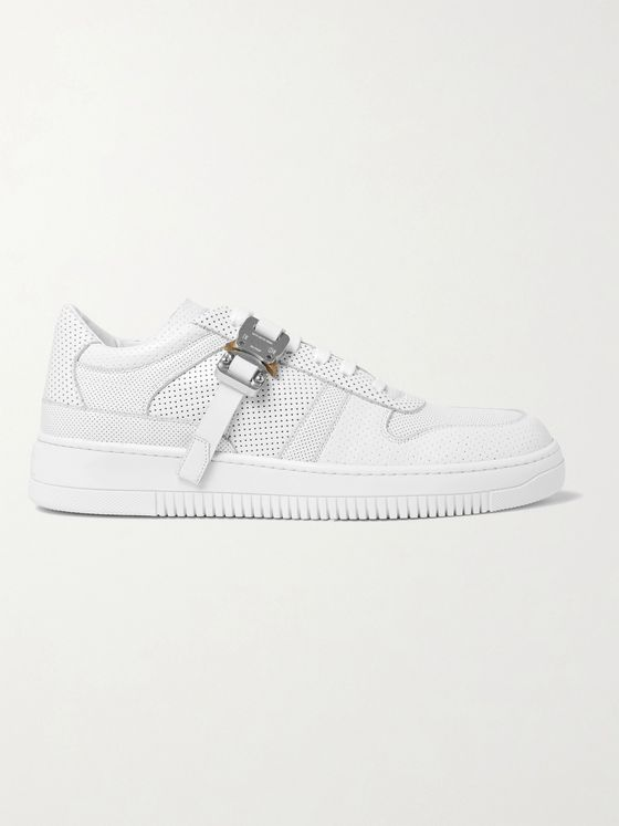 1017 ALYX 9SM Buckled Perforated-Leather Sneakers