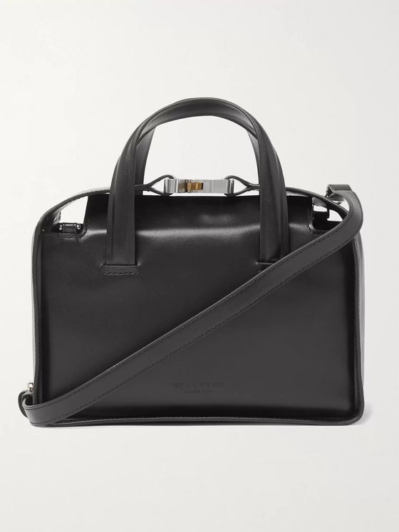 1017 ALYX 9SM Brie Leather Messenger Bag