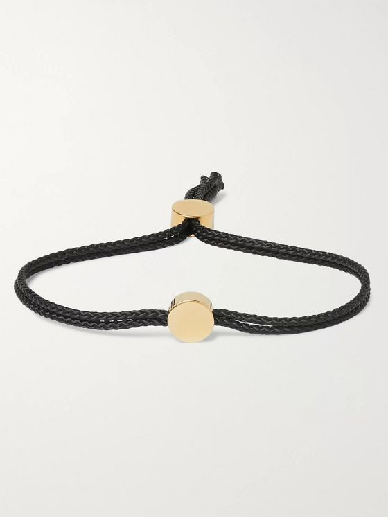 Alice Made This Dot Cord and Gold-Plated Bracelet