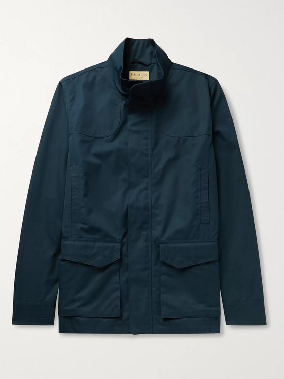 Purdey Cotton-Ventile Utility Jacket