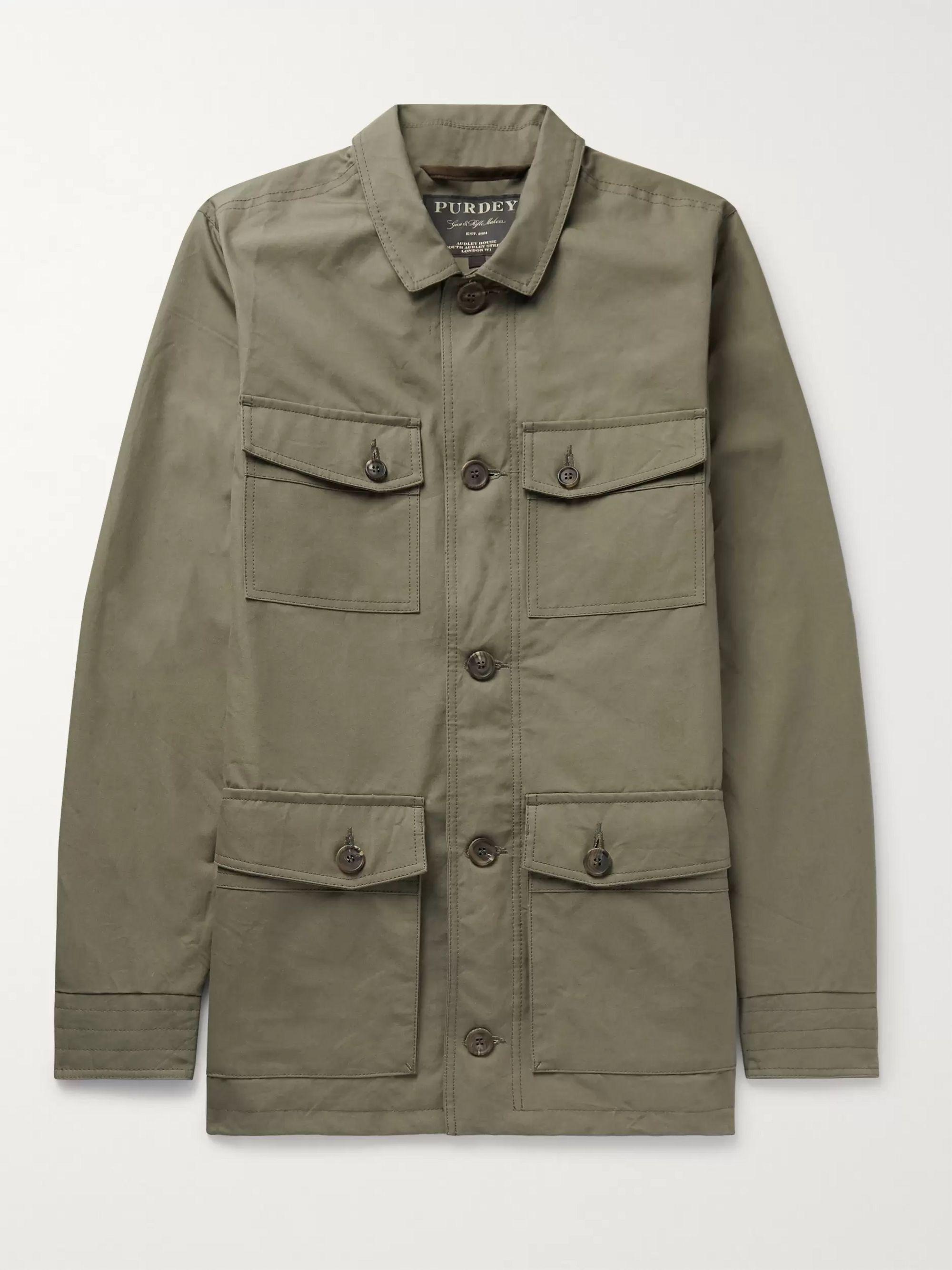 Percival Cotton Ventile Utility Jacket