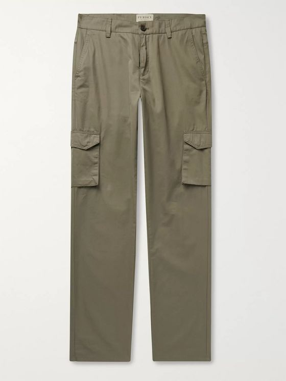 Purdey Cotton-Ventile Cargo Trousers