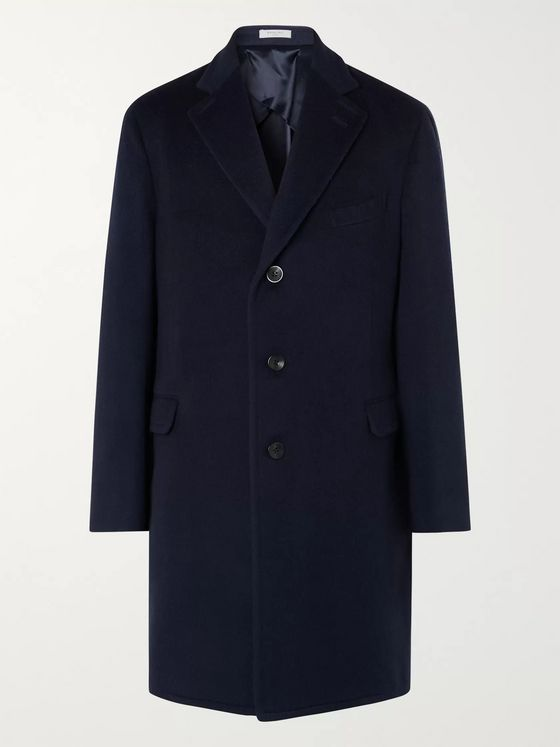 Boglioli Virgin Wool Overcoat