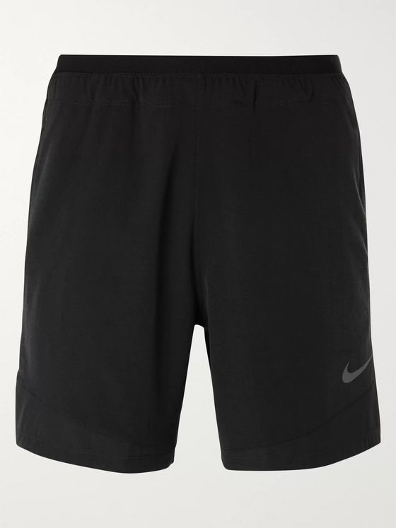 Nike Training Pro Rep Mesh-Panelled Ripstop Stretch-Shell Shorts