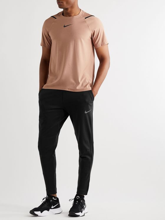 Nike Training Pro Tapered Stretch-Jersey Sweatpants