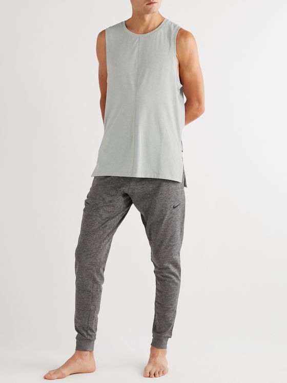 Nike Training Slim-Fit Mélange Dri-FIT Tank Top