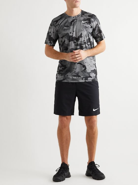 Nike Training Camouflage-Print Dri-FIT Stretch-Jersey T-Shirt