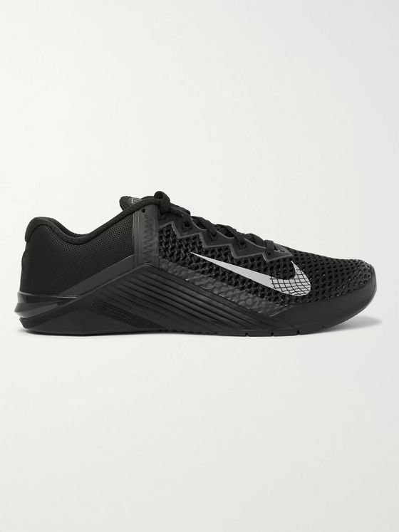 NIKE TRAINING Metcon 6 Rubber-Trimmed Mesh Sneakers