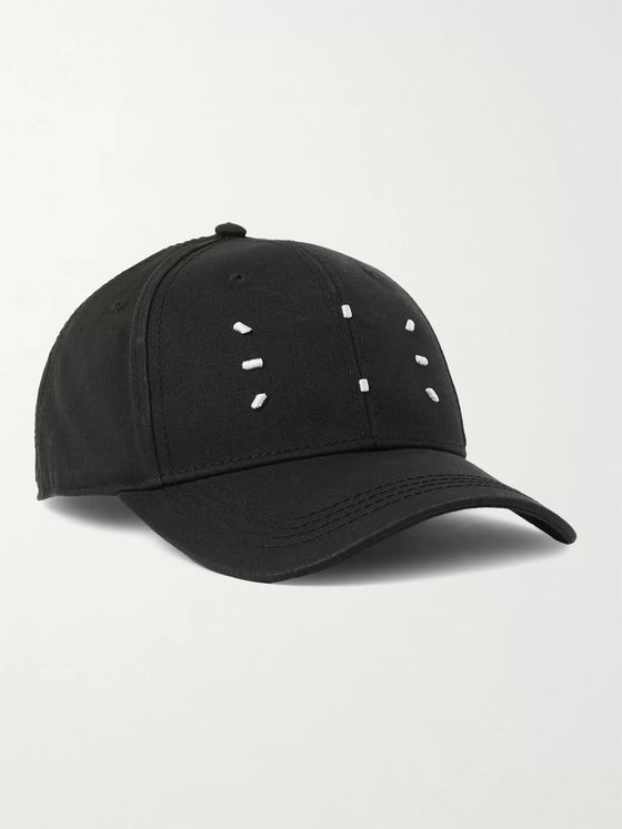 MCQ Embroidered Cotton-Twill Baseball Cap