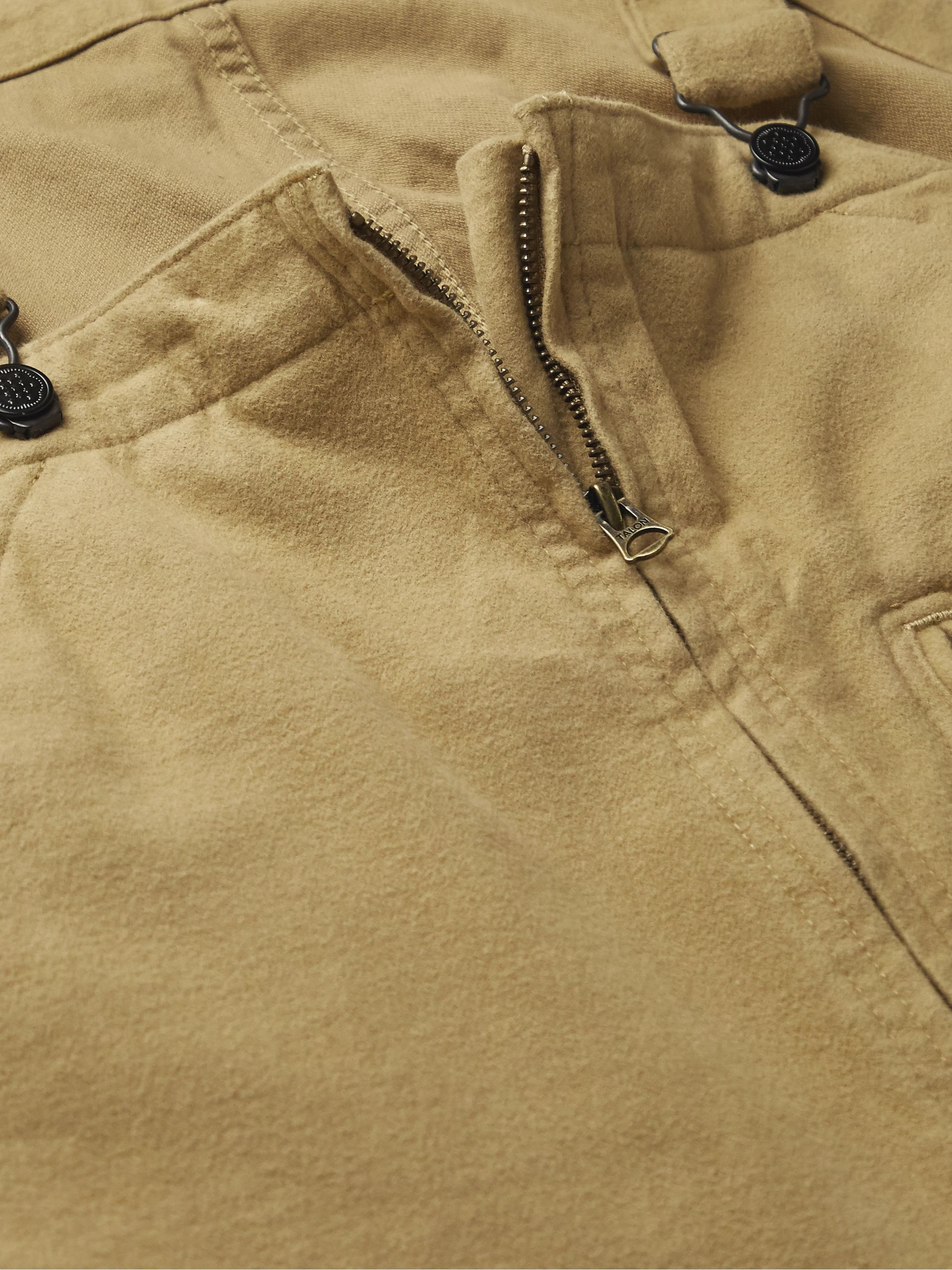 Beige Mil Brushed Cotton-blend Overalls | Beams Plus