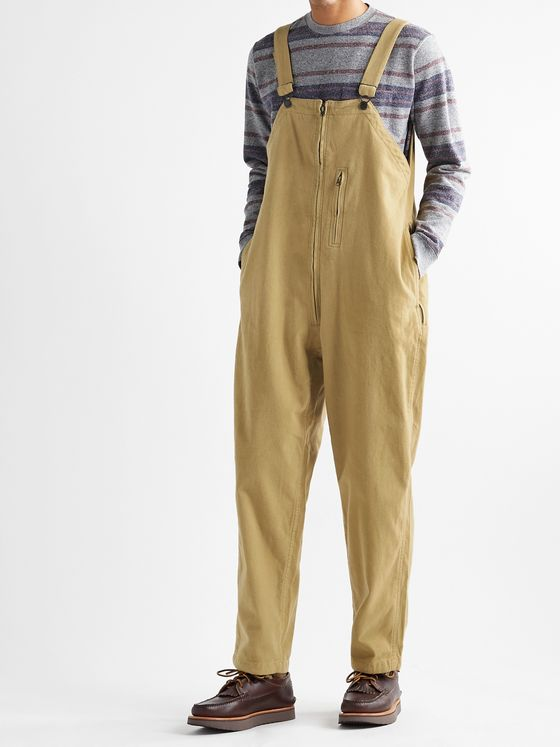 BEAMS PLUS Mil Brushed Cotton-Blend Overalls