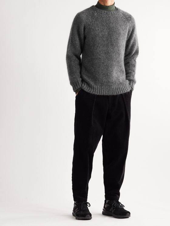 BEAMS PLUS Brushed Knitted Sweater