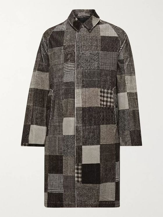 Beams Plus Patchwork Cotton-Blend Corduroy Jacket