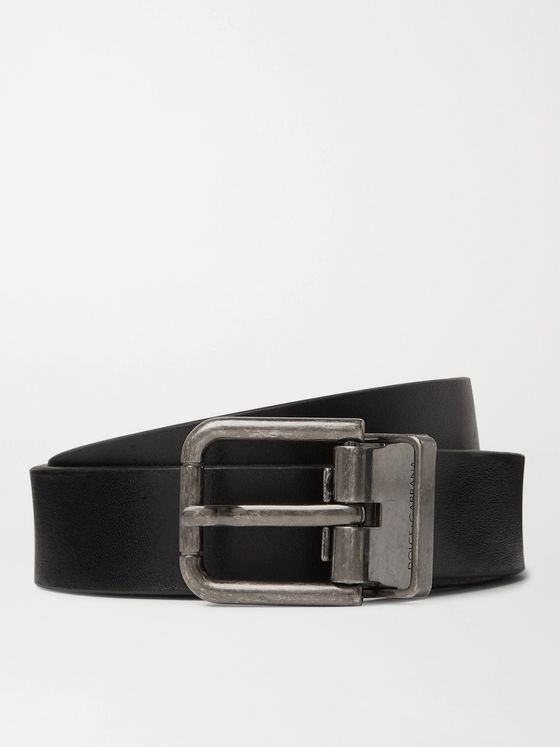 DOLCE & GABBANA 3cm Leather Belt