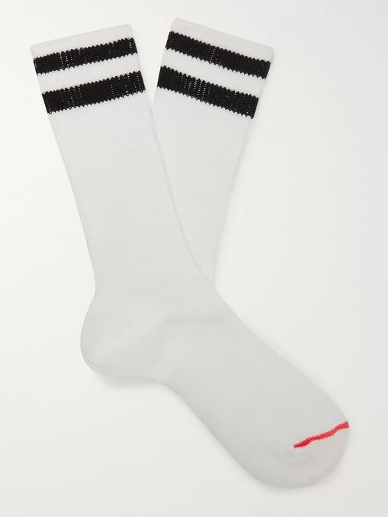 nonnative Dweller Striped COOLMAX Socks