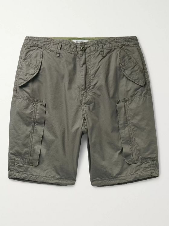nonnative Trooper Cotton-Twill Cargo Shorts