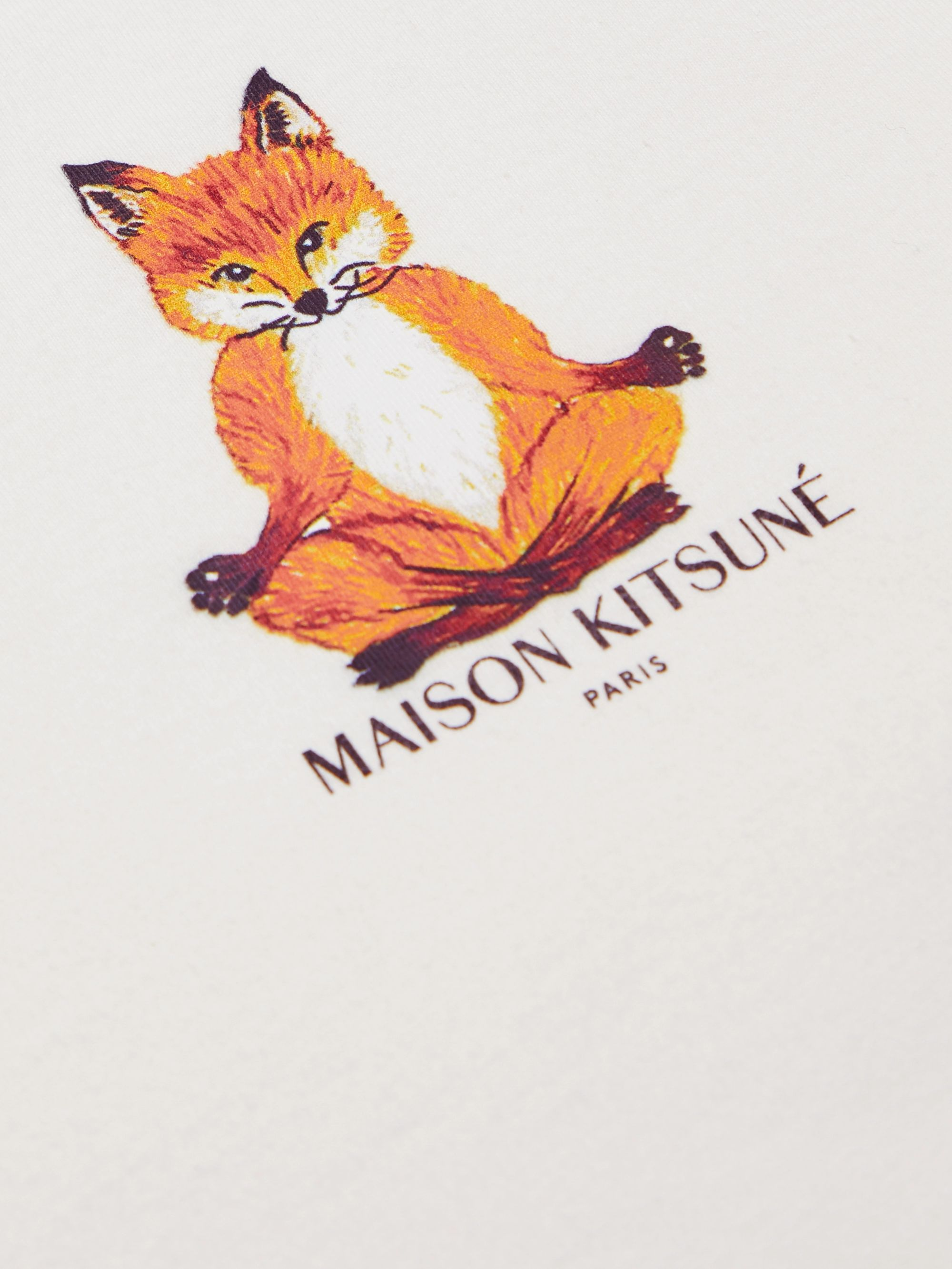 Maison Kitsuné Slim-Fit Logo-Print Cotton-Jersey T-Shirt