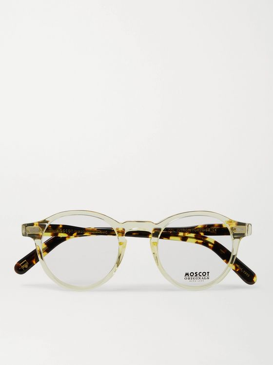 Moscot Miltzen Round-Frame Acetate Optical Glasses