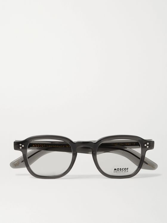 Moscot Momza Square-Frame Acetate Optical Glasses