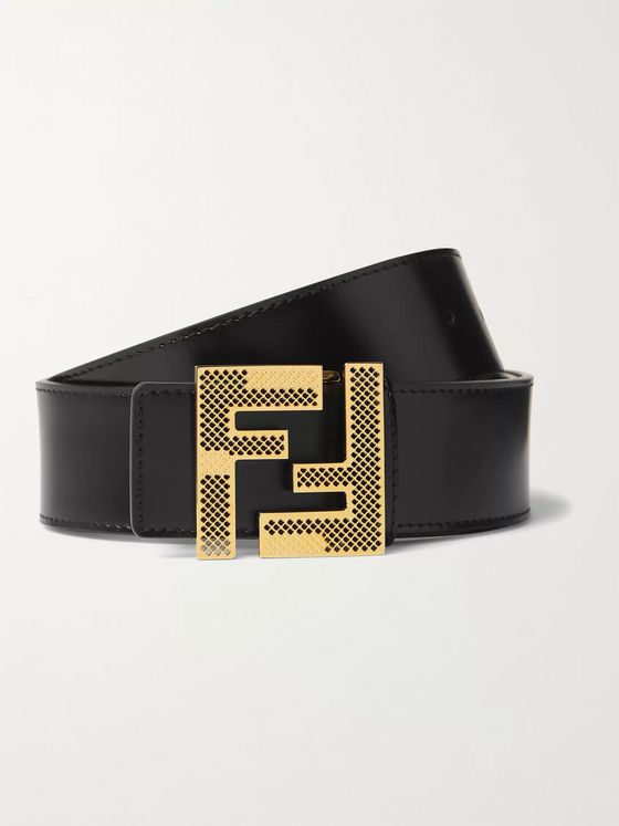 Fendi 4cm Leather Belt