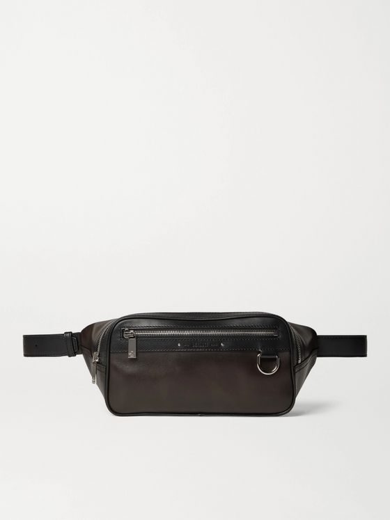 BERLUTI Leather Belt Bag