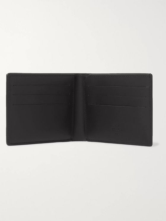 Berluti Excursion Printed Full-Grain and Burnished Leather Billfold Wallet