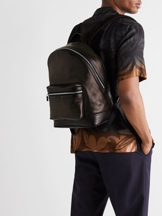 BERLUTI Explorer Venezia Leather Backpack