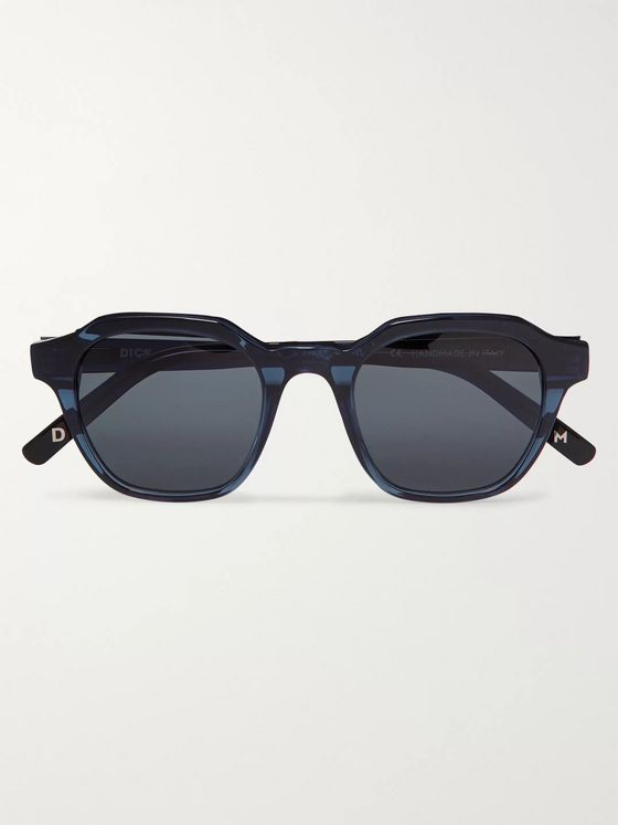 Dick Moby Barcelona Square-Frame Acetate Sunglasses