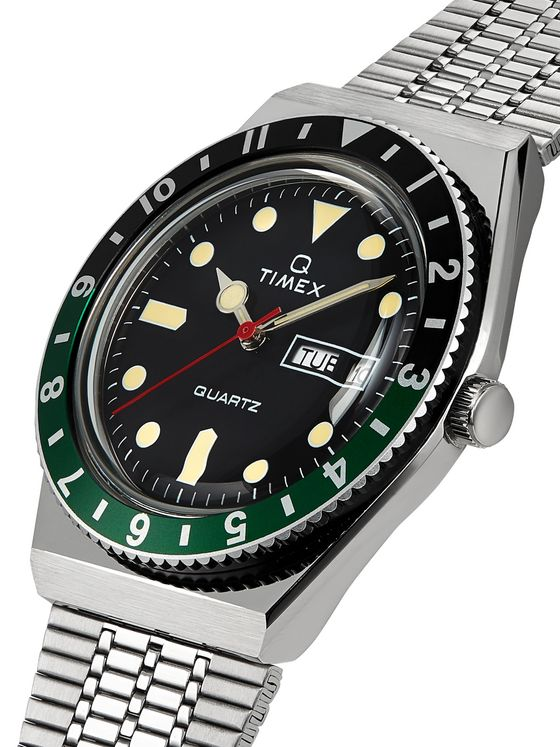 Timex Q Timex Reissue 38mm Stainless Steel Watch
