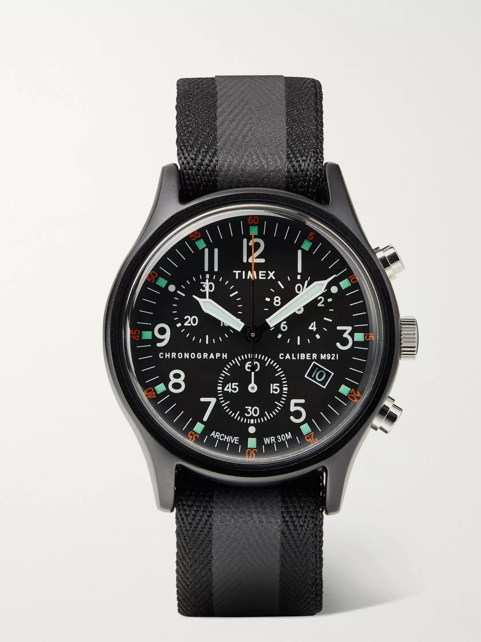 Timex MK1 40mm Aluminium and Webbing Watch