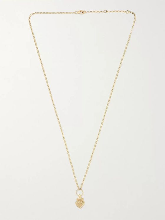 FOUNDRAE Spero 18-Karat Gold Necklace