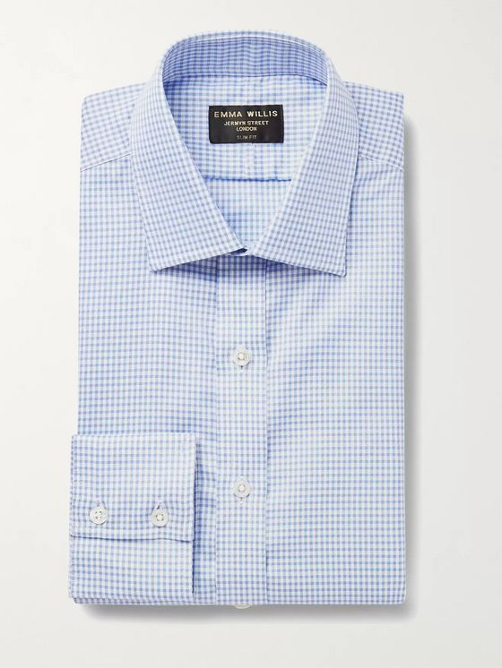 Emma Willis Slim-Fit Checked Cotton Oxford Shirt