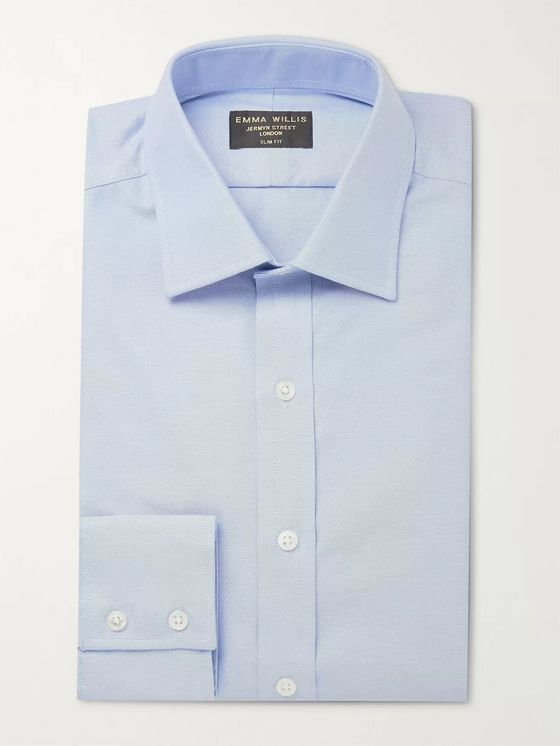 Emma Willis Slim-Fit Cotton Oxford Shirt