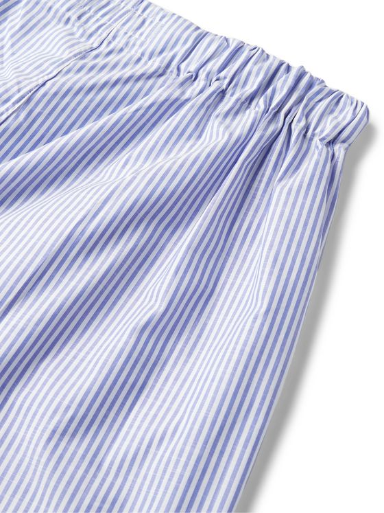 Emma Willis Striped Cotton Boxer Shorts