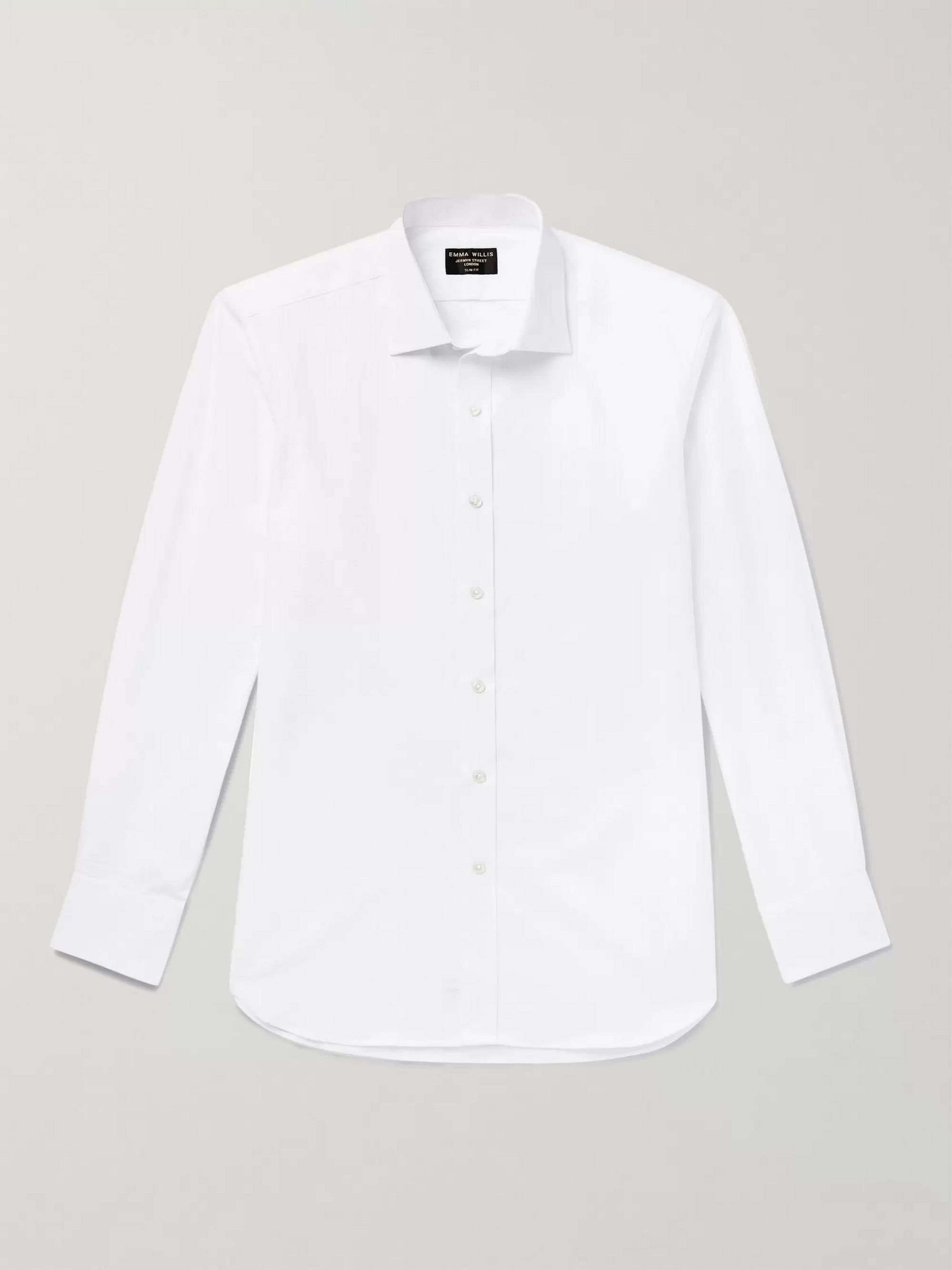 Emma Willis Cotton-Seersucker Shirt