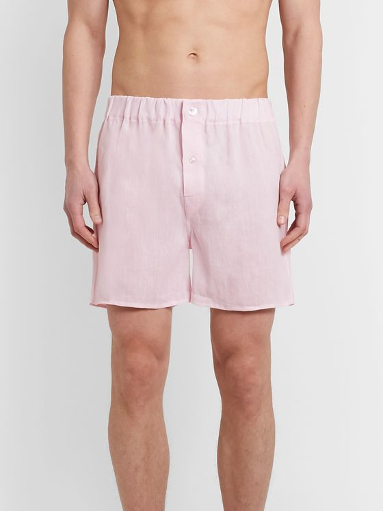 Emma Willis Linen Boxer Shorts