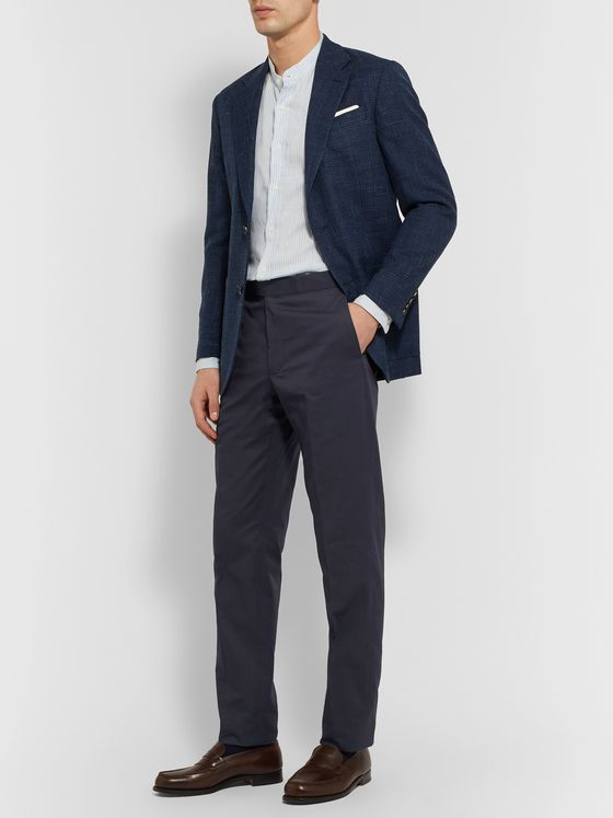 Richard James Slim-Fit Cotton-Twill Trousers