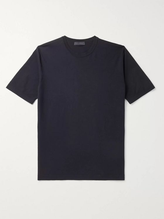 Thom Sweeney Garment-Dyed Cotton-Jersey T-Shirt